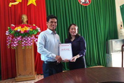 Công bố sáp nhập trường THCS Phạm Hồng Thái và trường TH Trần Văn Ơn